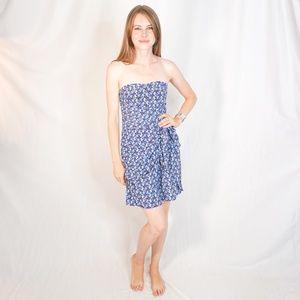CLUB MONACO Harper Tie Wrap Mini Dress sz 2 1081